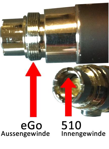 eGo - 510 Anschluss