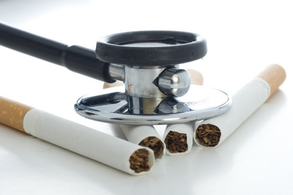 Sichtbare Raucherkrankheiten