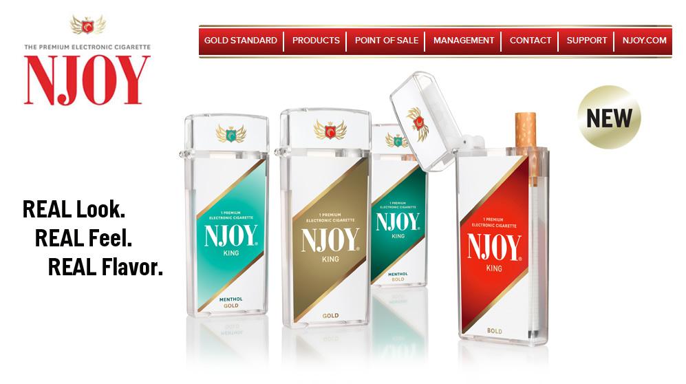 NJOY King - elektronische Zigarette