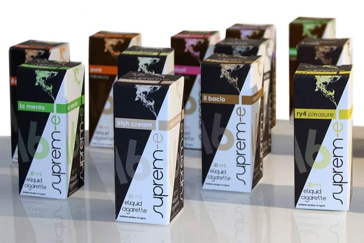 Suprem-e Liquids - Liquids mit italienischem Flair