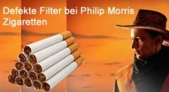 Philip Morris verkauft jahrzehntelang defekte Filter