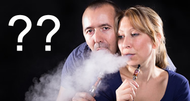 Die häufigsten Fragen zur e-Zigarette