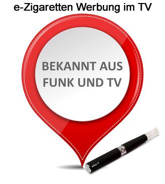 eZigaretten Werbung im TV