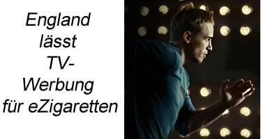 e-Zigaretten TV-Werbung