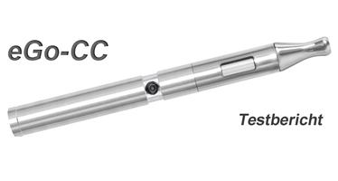 eGo-CC Testbericht eZigarette