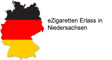 eZigaretten Erlass Niedersachsen