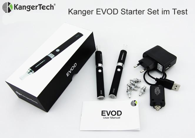 Kanger EVOD Starter Set im Test