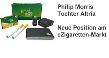 Philip Morris baut eZigaretten Position aus