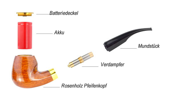 Elektronische Pfeife im Detail