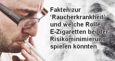 Lungenkrebs und die eZigarette
