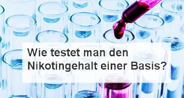 Nikotintest Basis Liquid