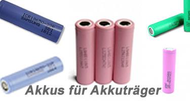 E-Zigaretten Akkus
