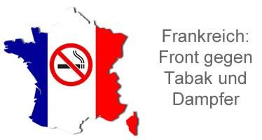 Frankreich macht Front gegen Tabak und Dampfer
