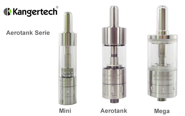 Kanger Aerotank Serie im Vergleich