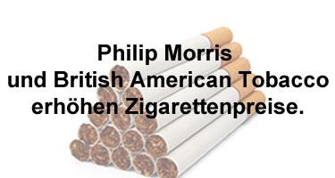 Zigaretten werden teuerer