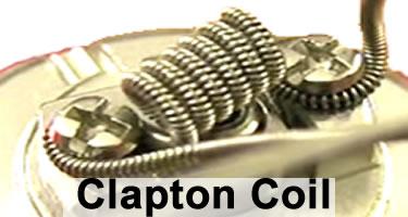 Die Clapton Coil Wicklung