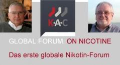 Das erste globale Nikotin-Forum