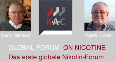 Das erste 'Global Forum on Nicotine' hat stattgefunden: Ergebnisse und Einsichten
