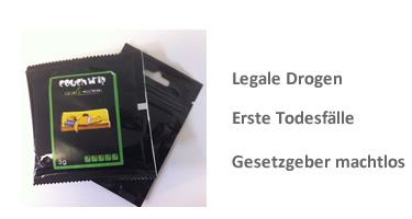 Kräutermischungen - Legal High