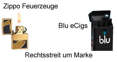 Zippo gewinnt Rechtsstreit gegen Blu E-Zigaretten