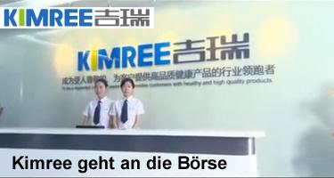 Der chinesische E-Zigarette-Hersteller Kimree will an die amerikanische Börse