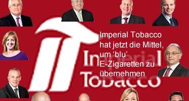 Imperial Tobacco hat jetzt die Mittel, um 'blu' E-Zigaretten zu übernehmen