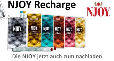 NJOY Recharge - kompakt und aufladbar