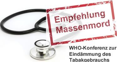 eZigarette: WHO empfiehlt Massenmord