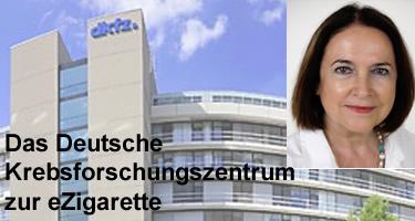 eZigaretten Empfehlung DKFZ deutsches Krebsforschungszentrum