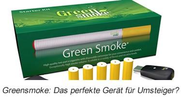 Greensmoke: Das perfekte Gerät für Umsteiger?