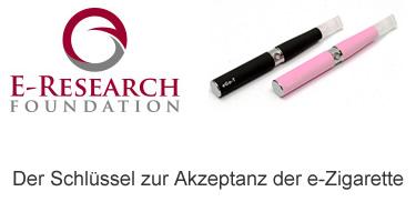 Der Schlüssel zur Akzeptanz der e-Zigarette Schwarmfinanzierte Plattform für wissenschaftliche Untersuchungen zur E-Zigarette