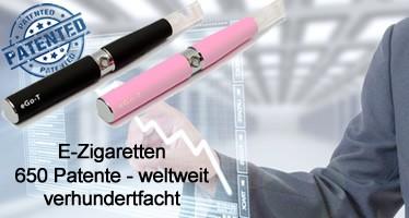 E-Zigaretten Patente haben sich seit 2012 weltweit verhundertfacht
