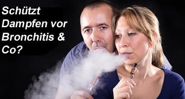Schützt Dampfen vor Bronchitis & Co?
