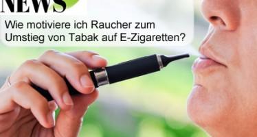 wie motiviere ich Raucher-zum-umstieg von tabak auf e-Zigaretten