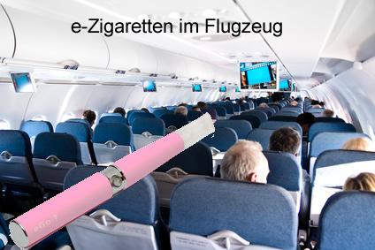 eZigaretten im Flugzeug: Mitnehmen wird Pflicht, Dampfen bleibt verboten