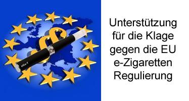 Anfechtungsklage gegen Artikel 20 der EU Tabakrichtlinie