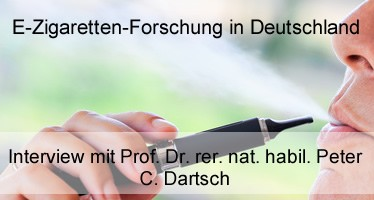 e-Zigarettenforschung in Deutschland