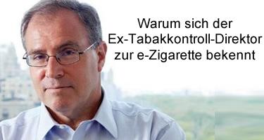 Ex-Tabakkontroll-Direktor der WHO bekennt sich zur E-Zigarette