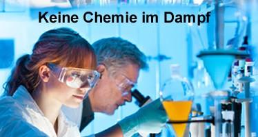 Keine Chemie im E-Zigaretten Dampf