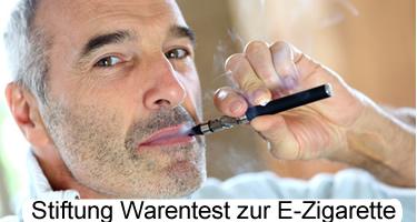 Stiftung Warentest zur E-Zigarette