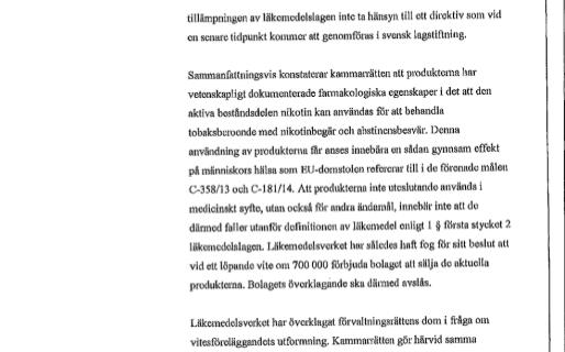 E-Zigaretten Verbot in Schweden