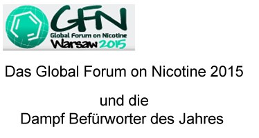 Global Forum on Nicotine 2015
