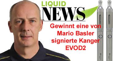 Mario Basler dampft - Gewinnspiel