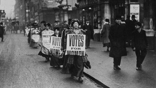 Ein Hoch auf den Pragmatismus...aber: Die Suffragetten war auch nicht gerade zu 1.000 unterwegs