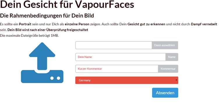 Dein Gesicht für VapourFaces