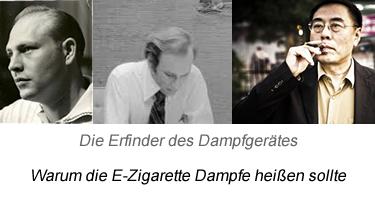 Dampfe vs. E-Zigarette