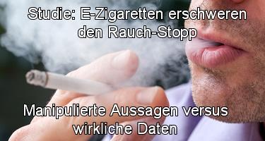 Studie: E-Zigaretten erschweren den Rauch-Stopp