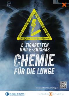 E-Zigaretten und E-Shishas Chemie für die Lunge