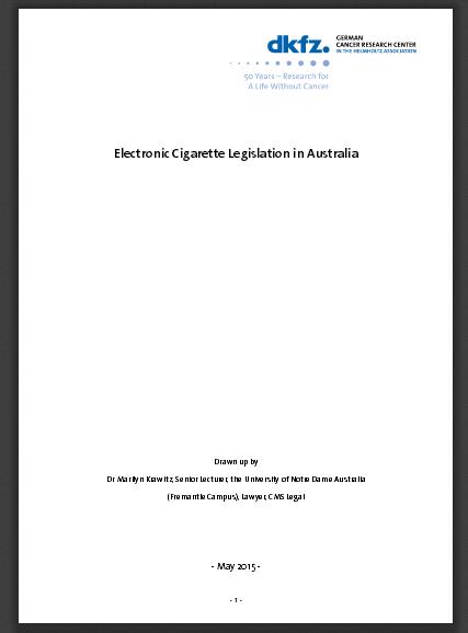 DKFZ veröffentlicht Anti-Dampf-Utopie Sehen so die eigentlichen Pläne der Bundesregierung aus?