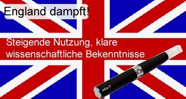 England dampft!